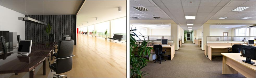 Office and comercial premises with beautiful LRS Flooring floors
